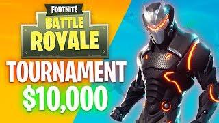 Fortnite YouTuber Tournament!! $10,000 Winner Prize! (Fortnite Battle Royale)
