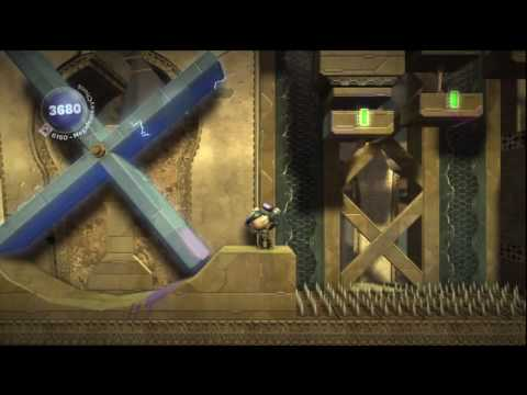 LittleBigPlanet - Metal Gear Solid Pack: Act 4 - 100% Prize Bubbles + Aced