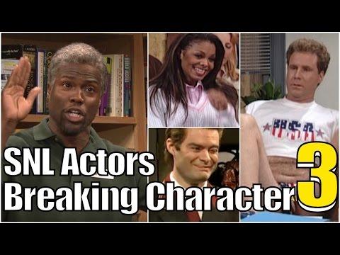 Snl Bloopers Actors Breaking Character Compilation Part 3
