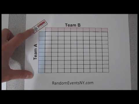 How to play / create a Super Bowl Pool