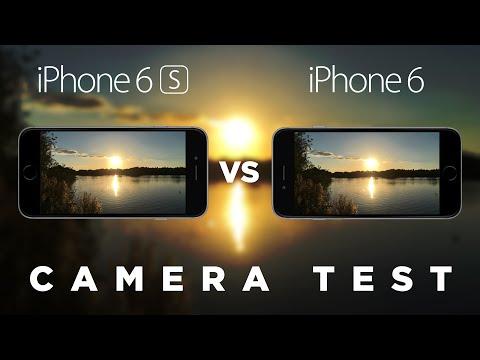 iPhone 6s vs iPhone 6 Camera Test Comparison