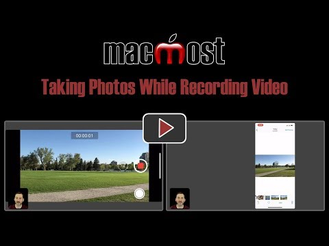 Taking Photos While Recording Video (#1666)
