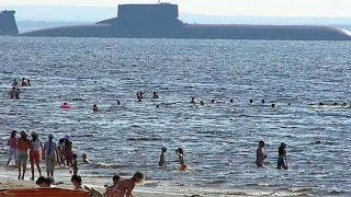 MEGA SUB! World's BIGGEST SUBMARINE ever constructed! (Soviet Typhoon/Akula Class Submarine.)