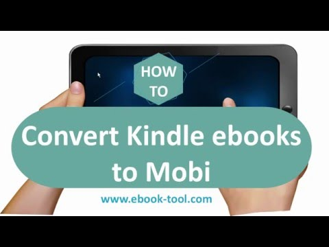 Best Way to Remove DRM from Kindle Books, and Convert Kindle AZW/AZW3/AZW4 to Mobi books