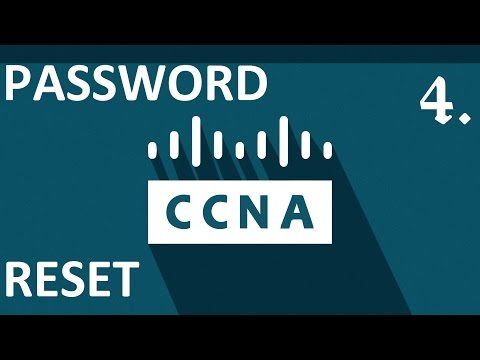 How to reset passwords on a Cisco Router [L4]