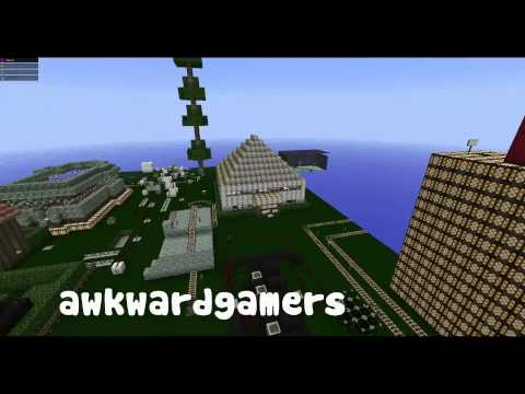 Awkward Gamers Creative Server - Walkthrough