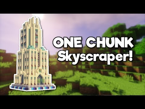 Minecraft: Skyscraper in ONE CHUNK! [Tutorial]