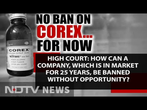 Corex, popular cough syrup, not banned for now, says court