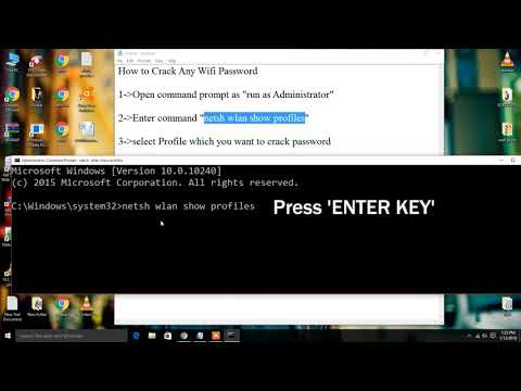 how to hack wifi password on laptop windows 10 without cmd