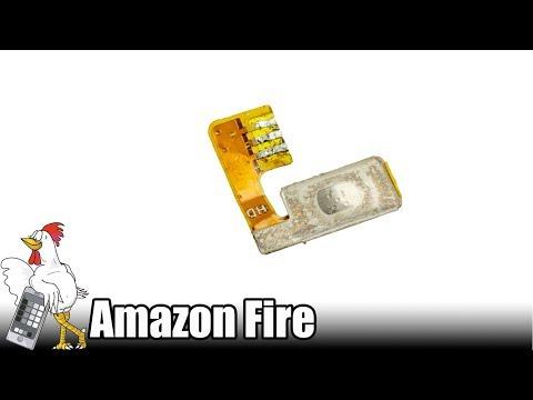 Guía del Amazon Fire: Cambiar pulsador de encendido