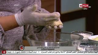 """المطبخ - طريقة عمل """"عيش البطاطس """" على طريقة الشيف أسماء مسلم"""