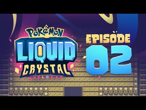 SPOOKY ENCOUNTERS! - Pokémon Liquid Crystal Nuzlocke w/ Supra! Episode #02