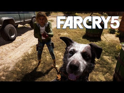 Walking Dead Testy Festy - Far Cry 5 Coop Gameplay