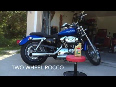 How To: Harley Davidson Primary and Transmission Oil Change.