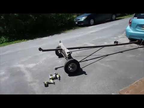 Making a kayak trailer 2