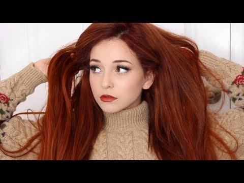 HOW TO: Autumn Orange/Ginger Hair Dye Tutorial