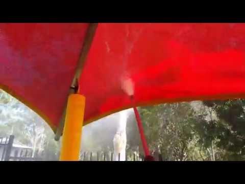 Darwin Shade Cloth Pressure Cleaning
