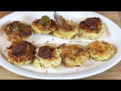 Easy Homemade Rosemary Latkes and Matzo Crackers