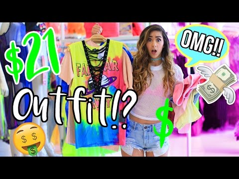 FOREVER 21 OUTFIT CHALLENGE!!