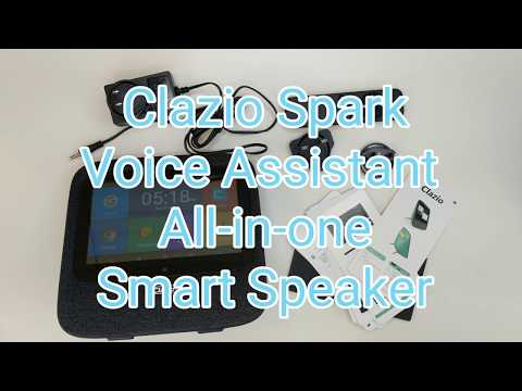 Clazio SPARK: Alexa & Android Touchscreen Smart Speaker