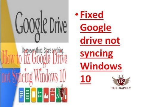 How to fix Google Drive not Syncing Windows 10[Solved]