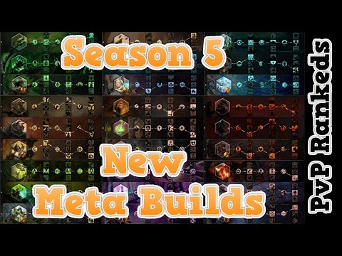 Guild Wars 2 Best Builds for Solo or Duo PvP Rankeds ! All Classes Traits Amulets Weapons Skills !