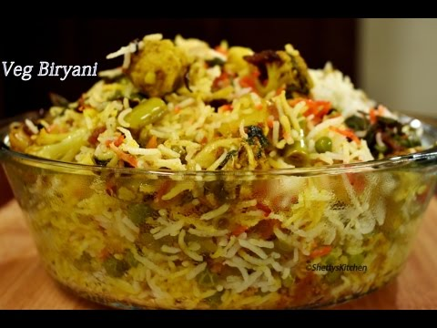 Vegetable Biryani | veg biryani | Step by step Veg biryani recipe