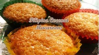 Filipino Coconut Macaroons