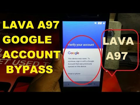 LAVA A97 GOOGLE ACCOUNT BYPASS - PakVim net HD Vdieos Portal