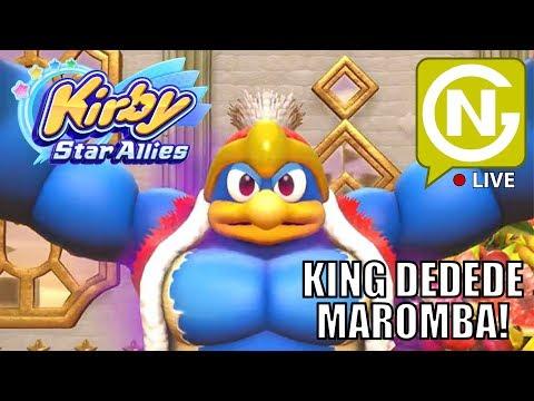 Comendo tudo em Coop com a Ana! | Kirby Star Allies
