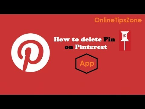 How to delete Pins on Pinterest App