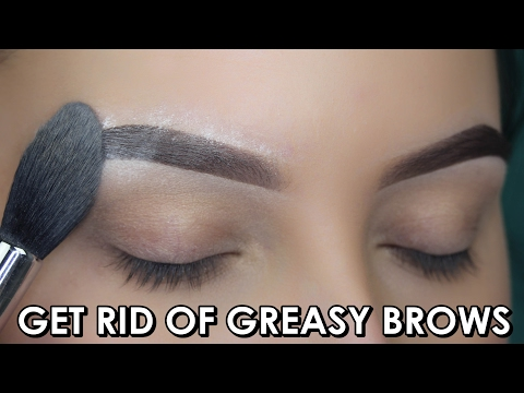 BROW HACK Get Rid Of Greasy Eye Brows