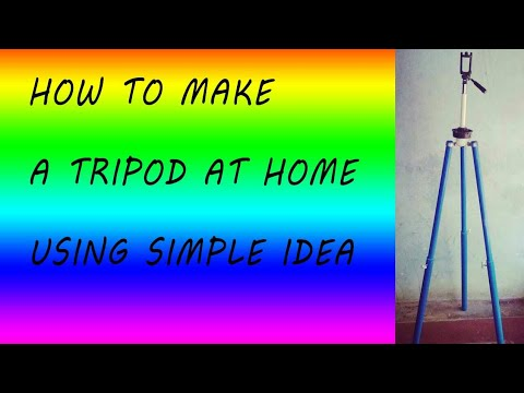 How to make a camera stand