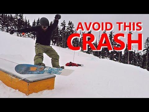 Avoid The Boardslide CRASH! - Beginner Snowboard Tricks