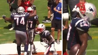 Antonio Brown FIRST TOUCHDOWN With New England Patriots #NFL #AntonioBrown #Patriots