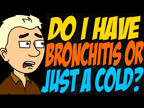 Do I Have Bronchitis or Just a Cold?