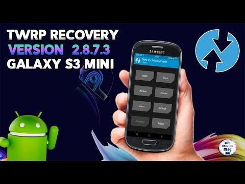 ▶ Recovery TWRP v2.8.7.3 Galaxy S3 Mini Flasheable ◀ Andro3000
