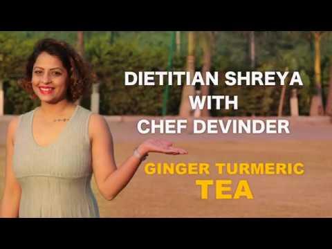 Weight loss magic recipe:Ginger-Turmeric tea -Dietitian Shreya