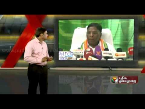 Former minister Narayanasamy alleges corruption to the in Puducherry public sector enterprises