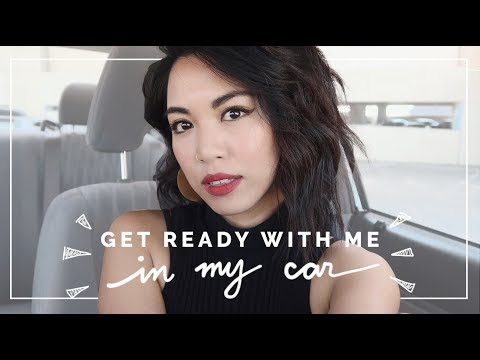 GET READY WITH ME IN MY CAR! | beautybitten