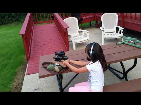 E and the Ruger 22/45  2017