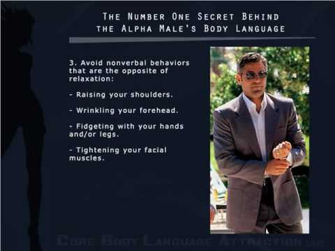 Secret Behind the Alpha Male's Body Language