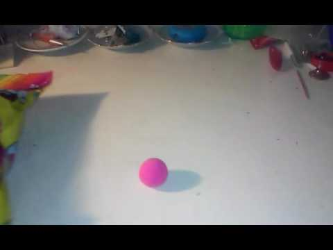 DIY How to make a Bouncy Ball Without Borax,Glue, and Rubber bands