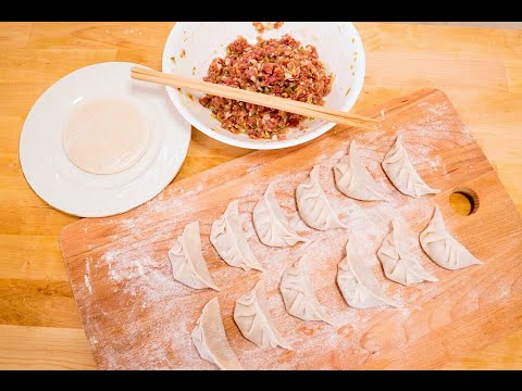 How To Make Chinese Dumplings with Pork and Napa Cabbage Recipe, CiCi Li