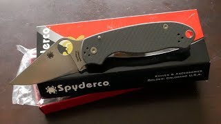 Spyderco Paramilitary 3 C223GPBL M390