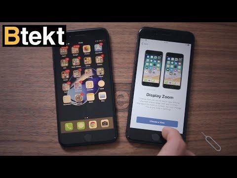 iPhone 8 set-up walkthrough using iOS 11 Quick Start