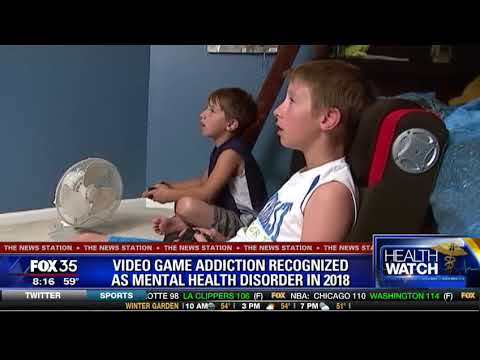 Health Alert: Video Game Addiction Recognized as Mental Health Disorder