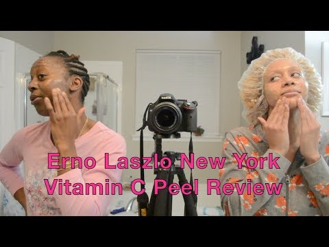 Review: Erno Laszlo Vitamin C Peel