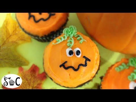 HALLOWEEN PUMPKIN CUPCAKES | Sweetwater Cakes