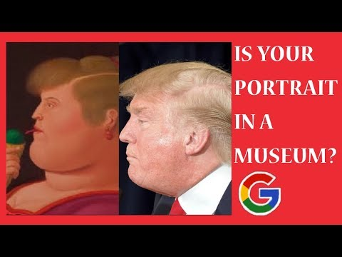 Using Google's Viral Art Selfie App | Find your selfie in a museum!